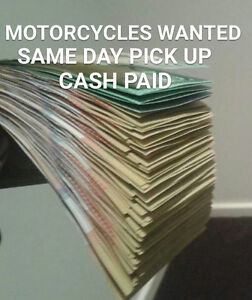 MOTORCYCLES WANTED CASH PAID 24/7 Caroline Springs Melton Area Preview