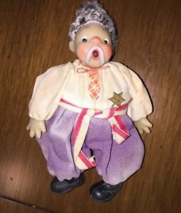 "Ukrainian Kozak doll toy 8"" tall"