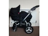 Obaby ZEZU MULTI PRAMETTE Stroller/Buggy/Pram/Pushchair Baby, great condition!