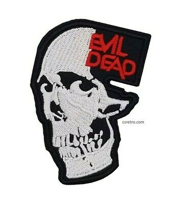 The Evil Dead Vintage Retro 80s 90s Style Iron on Patch Fashion Applique Horror