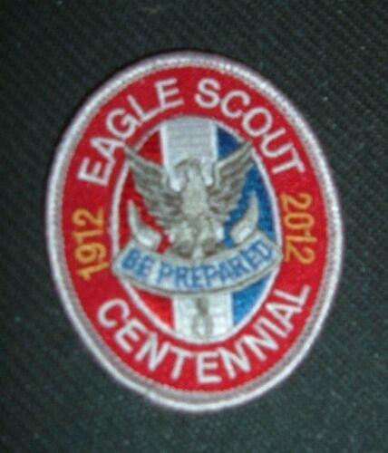 Boy Scout Eagle Scout 1912-2012 Centennial Rank Patch