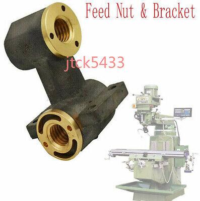 Milling Machine Part J Head X Axis Y Axis Feed Nut Bracket For Bridgeport 1set