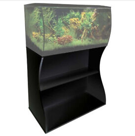 Fluval Flex 123L Stand - Black (Fish Tank Not Included)