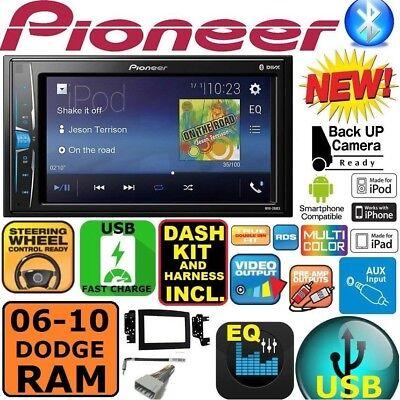 06 07 08 09 10 RAM TOUCHSCREEN BLUETOOTH USB DOUBLE DIN CAR STEREO RADIO  Bluetooth Adapter Ipod Video