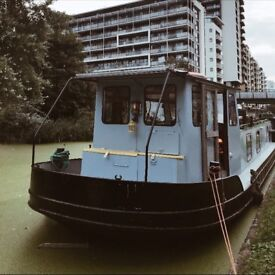 Beautiful dutch barge / houseboat / canal boat for sale