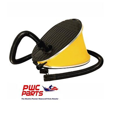 """AIRHEAD Bellows Action Foot Pump AHP-F1 with 54"""" Long Hose / Three Adapters"""