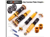 For High Performance BMW 3 Series E36 M3 Fully Adjustable Coilover Shock Absorber Suspension Kit