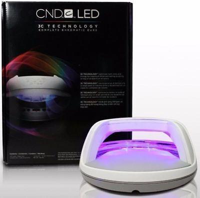 CND LED LAMP Cures Shellac & Brisa Professional Curing LED Lamp Light Nail UK