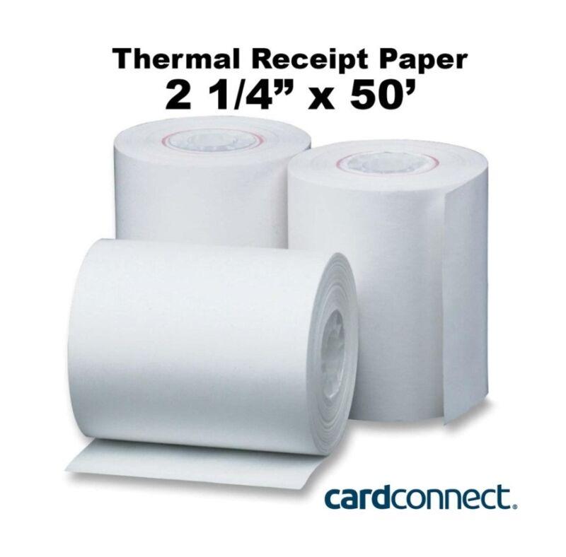 Clover Mini Receipt Paper: 2 1/4″ x 50′ - 50ct