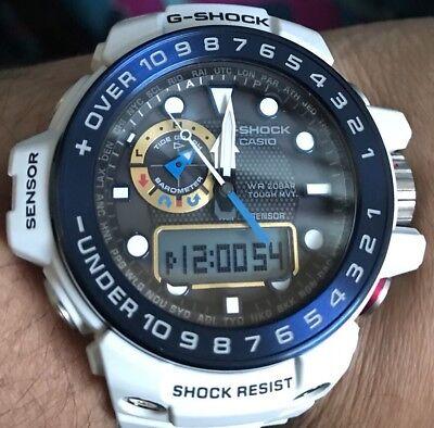 G-Shock gulfmaster GWN1000 White Mens Sport Watch