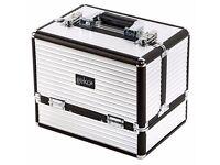 Large Aluminium Cosmetic Vanity Case Beauty Make Up Box Storage Organiser Saloon