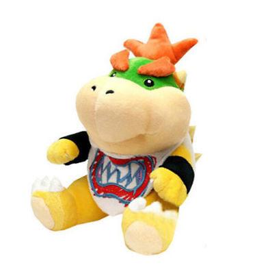 Super Mario Bros Koopa Bowser Jr. Plush Soft Doll Toy Figure Stuffed Animal Gift
