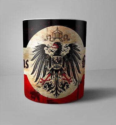 WWI German Patriotic Coffee Mug 1914/18 World War 1 God with Us German Eagle