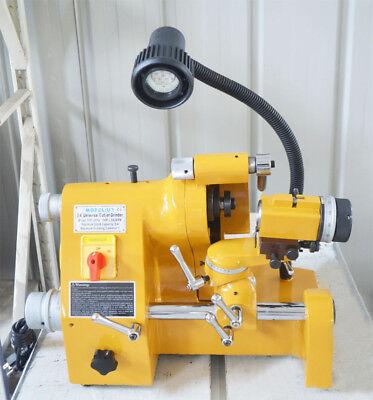 220v Universal Sharpener Grinder Multi-function End Mill Lathe Drill Bit Tool