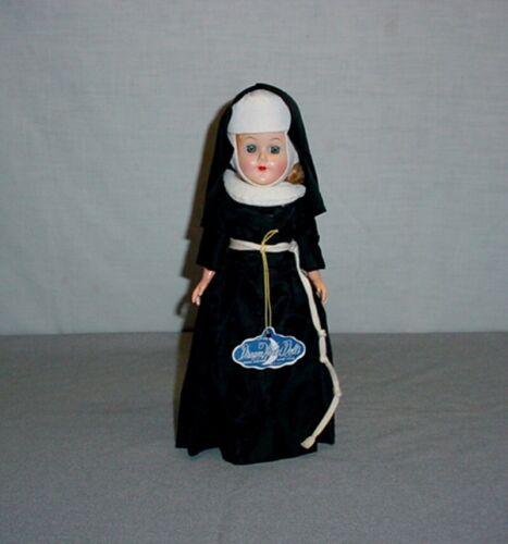 "Vintage Dream World 11"" Catholic Nun Sister Doll Sleepy Eyes Movable Arms Legs"