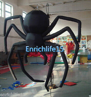Giant Party Decoration Halloween Inflatable Hanging Spider for Sale - Giant Spider Decorations For Halloween