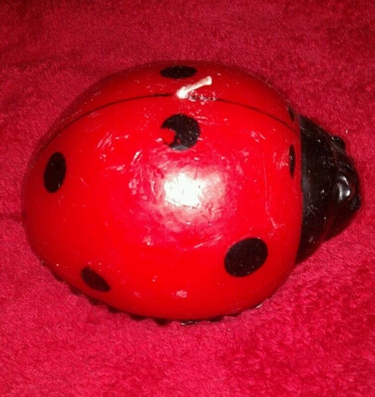 Ladybug Candle