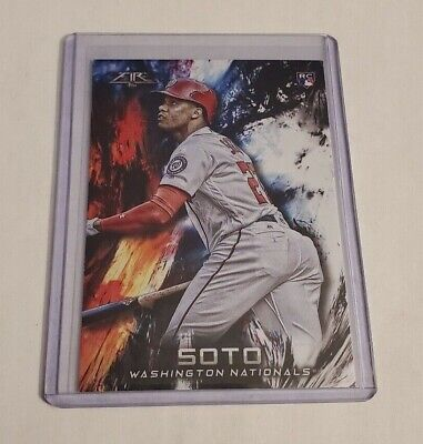 R56,926 - 2018 Topps Fire #181 Juan Soto Rookie Nationals