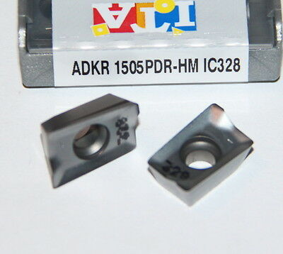 ADKR 1505PDR-HM IC328 ISCAR *** 10 INSERTS *** 1 FACTORY PACK