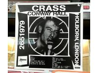 Brand new n sealed, Crass ‎– 2651979 Conway Hall, Holborn, London, released in 2010, Hardcore Punk