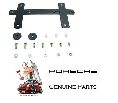 PORSCHE 911 964 993 FRONT LICENCE PLATE BRACKET KIT 89 - 94 NEW GENUINE