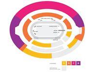 2x IAAF World Championships Tickets / Usain Bolt's Last Race / CAT A / August 5th