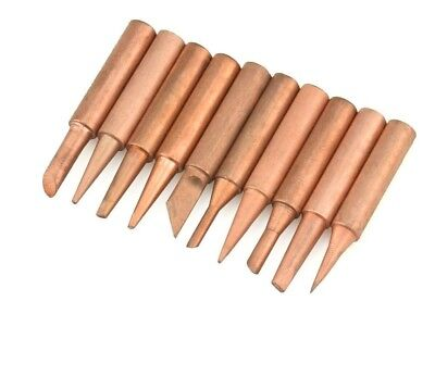 Tool Welding Tips Pure Copper Lead Soldering Iron Rework Station Accessories New