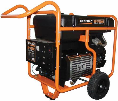 Generac 5735 - GP17500E 17,500 Watt Electric Start Portable Generator I 49 State