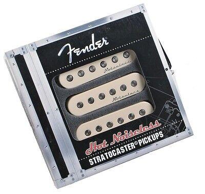 Genuine Fender Noiseless Hot Stratocaster Pickups Aged White 099-2105-000