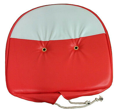New Universal Red And White Pan Seat Cover