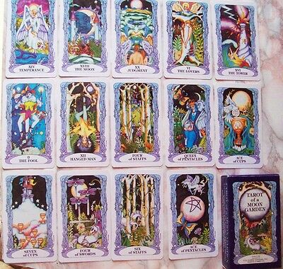 Tarot of a Moon Garden 78 Cards Deck Karen Marie Sweikhardt Fantasy BRAND NEW