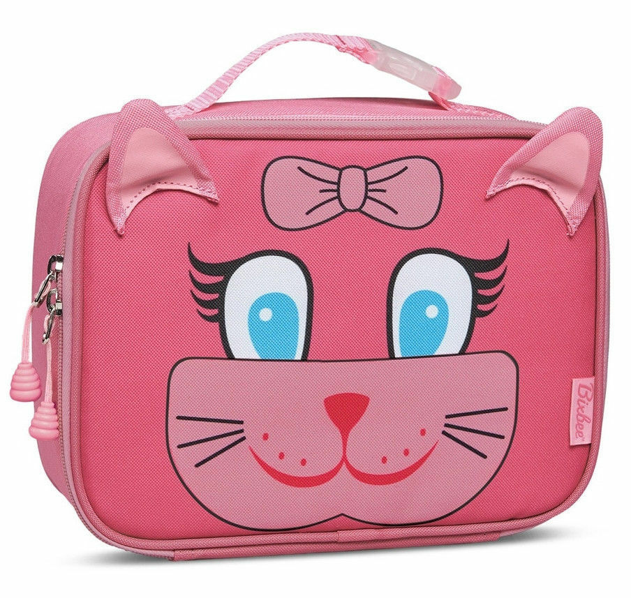 bad3a0f2526c Bixbee Kids Insulated Lunchbox Kitty Pink