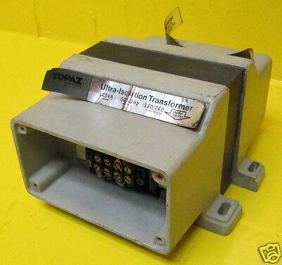Topaz Ultra-isolation Transformer 91091-11 Cap .005 125 Va 120240 V Square D
