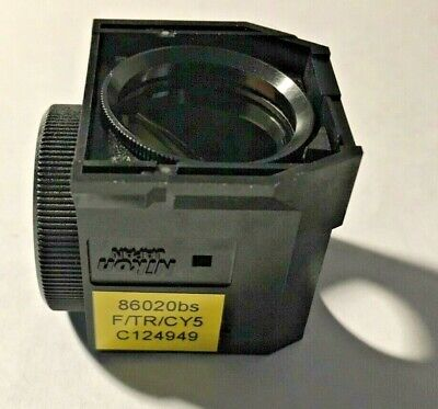 Nikon Ftrcy5 Triple Fluorescence Filter For Te Microscopes Dichroic Only