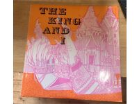 THE KING AND I New World Show Orchestra JOHNNY DOUGLAS LP UK 1961 vinyl