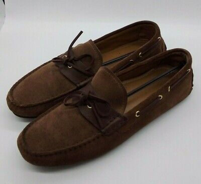 Zara Man Mens Brown Casual Boat Shoes Slip On Loafers Size 10 EUR 44