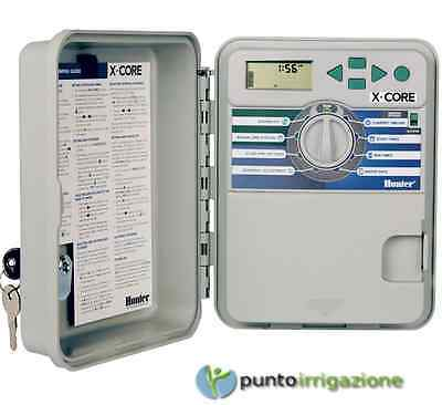 PROGRAMMER CONTROL UNIT HUNTER 4 zone stations XC-401-E waterproof outdoor