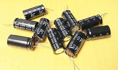 15 470uf 470mmfd 100v Electrolytic Caps Capacitors 105c 105 Degrees C New Nos