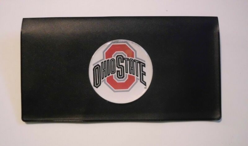 OHIO STATE BUCKEYES CHECKBOOK COVER FOLDER HOLDER WALLET  FREE SHIPPING
