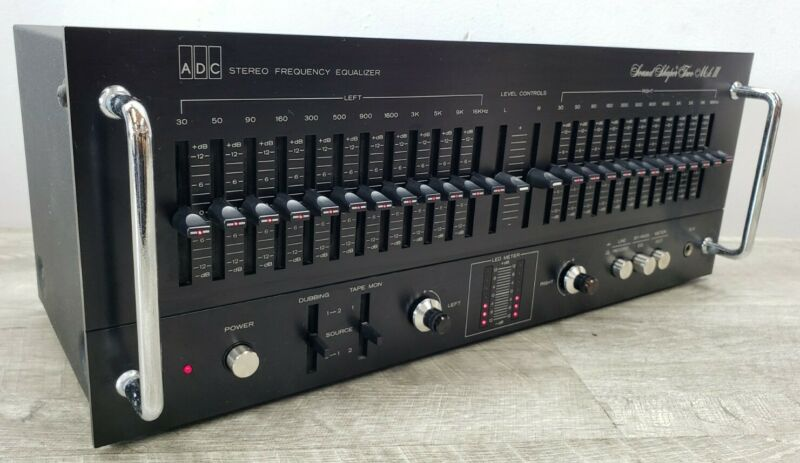 ADC Sound Shaper Two SS-2 MKIII 12-Band Graphic Equalizer *Works* SEE VIDEO