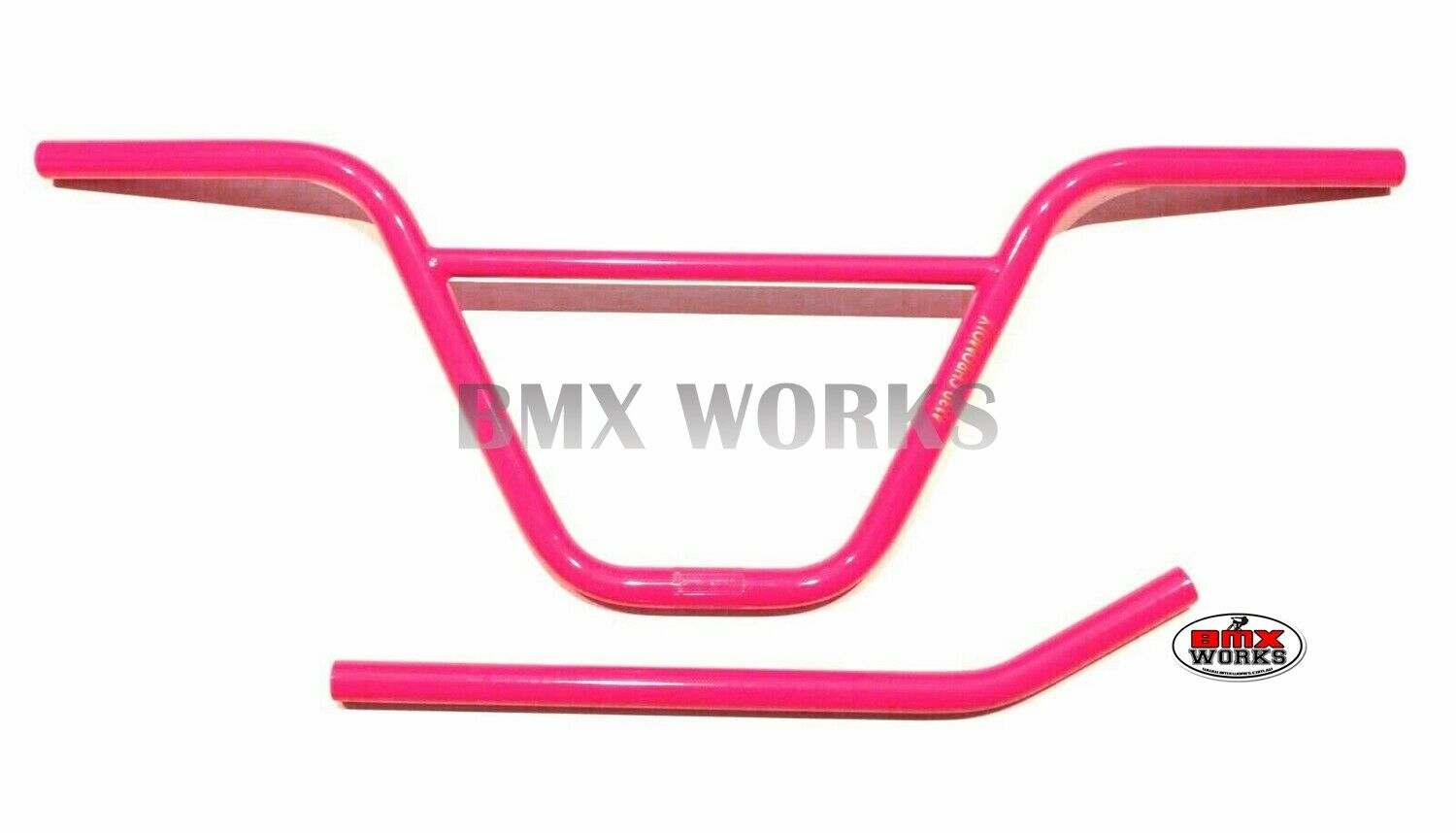 ProBMX Pink Seat Post 22.2mm x 450mm Chrome Moly Layback Old School BMX Style