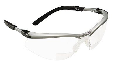 3M 11374 Reader's Safety Glasses,+1.5 Diopter, Clear Lens Bifocal lens - M Reader
