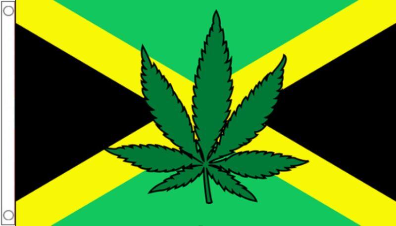 Jamaica Rastafarian Marijuana Leaf 5