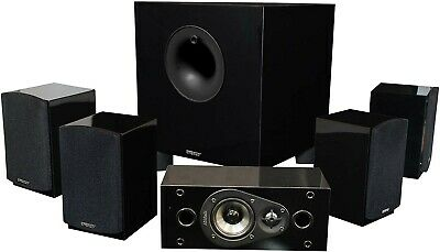 Energy Take Classic 5.1 Home Theater System (Set of Six, Black)