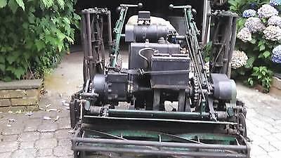 Riding Locke Lawn mower 75 Triplex with reverse 1974