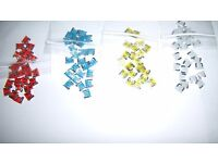 4 20 Amp Micro Fuse Low Profile Red ATM Micro Blade Fits Nissan Infinity New