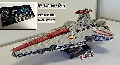 UCS LEGO Star Wars Venator-Class Star Destroyer - USB & INSTRUCTIONS ONLY