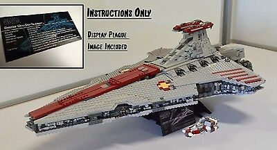 Ucs Lego Star Wars Venator Class Star Destroyer   Usb   Instructions Only