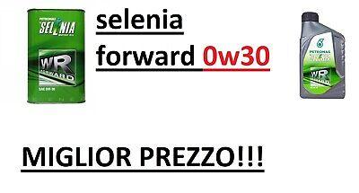 5 LT Olio Motore Selenia WR FORWARD 0W30 C2 EURO 6 FIAT ALFA LANCIA MULTIJET