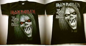 IRON-MAIDEN-THE-PIANO-TRIBUTE-TO-IRON-MAIDEN-T-SHIRT-TG-S-RARO